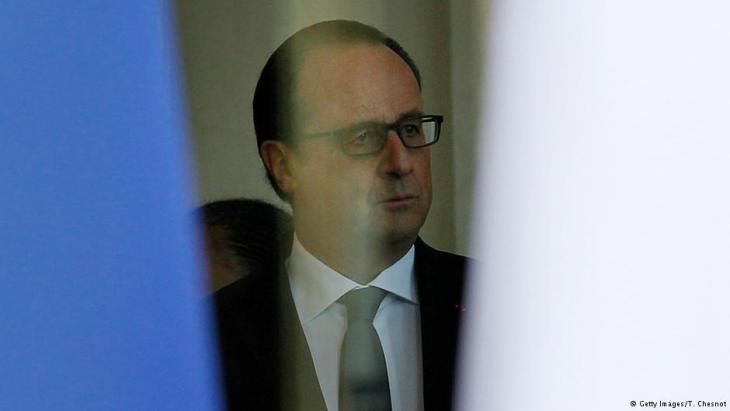 Frankreichs Präsident François Hollande; Foto: Getty Images