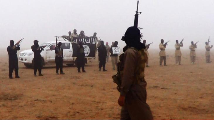 IS-Dschihadisten im Irak; Foto: picture-alliance/AP