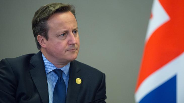 Großbritanniens Premier David Cameron; Foto: picture-alliance/dpa/S. Guneev