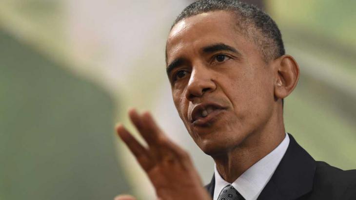 US-Präsident Barack Obama; Foto: picture-alliance/dpa