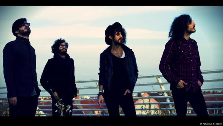 """Die iranische Band """"Langtunes""""; Foto: Parvenue Records"""