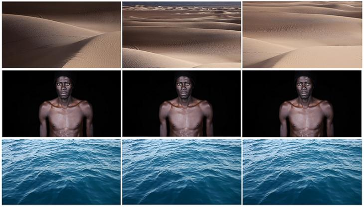 "Leila Alaouis ""Crossings""-Video-Still; Quelle: Leila Alaoui"