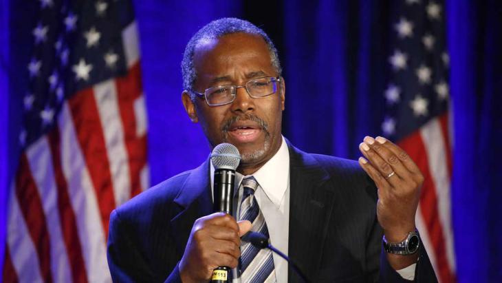 Republikaner Ben Carson; Foto: Reuters