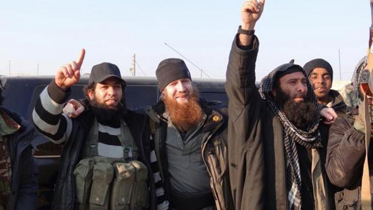 IS-Dschihadisten in Syrien, Foto: DW