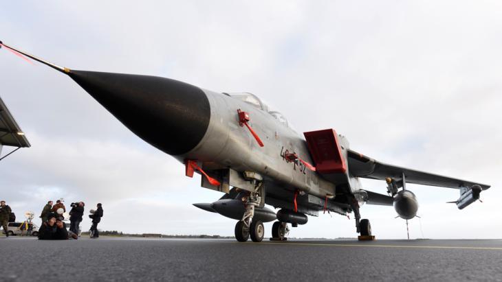 Deutscher Tornado-Kampfjet; Foto: Reuters/F. Bimmer