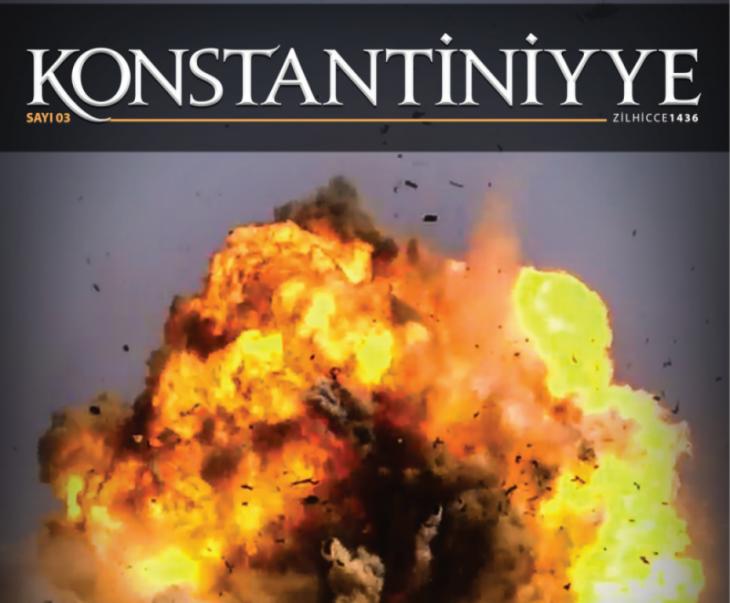"""Cover der türkischsprachigen IS-Zeitschrift  """"Konstantiniyye"""""""