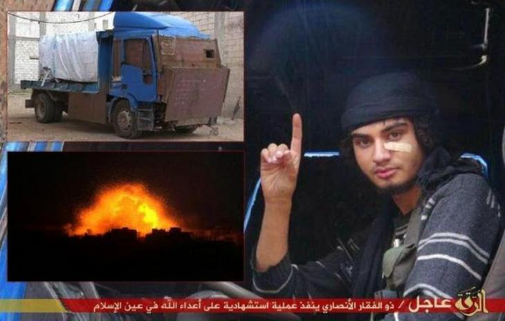 """Der """"Islamische Staat"""" inszeniert seine Selbstmordbomber in Zeitschriften, Videos oder im Internet. (Foto:donotgothere.org)"""