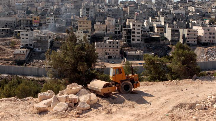 Siedlungen bei Maale Adumim; Foto: dpa/picture-alliance