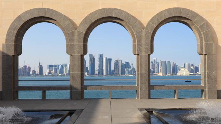 Blick auf das Museum of Islamic Art in Qatar; Foto: fotolia/philipus