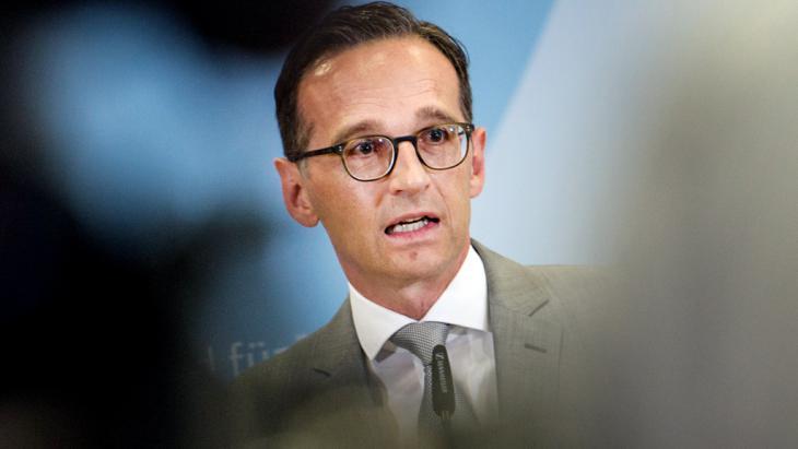 Bundesjustizminister Heiko Maas; Foto: picture-alliance/dpa/P. Zinken