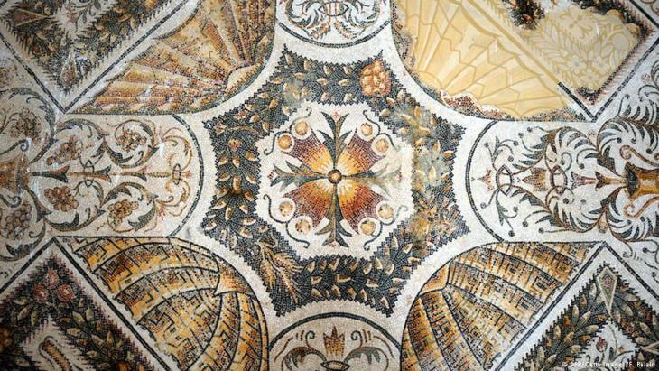 Großes Mosaik im Bardo-Museum; Foto: Sarah Mersch