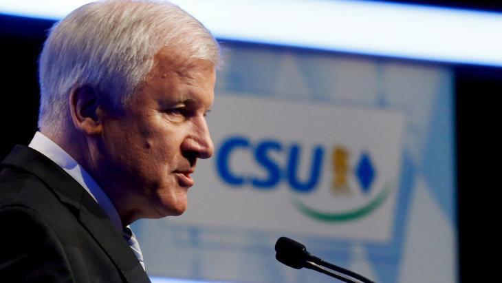 Bavaria′s prime minister Horst Seehofer (CSU) (photo: Reuters/M. Dalder)