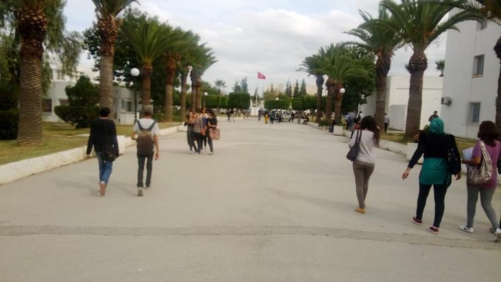 La Manouba Universität in Tunis; Foto: DW/M. Marwa