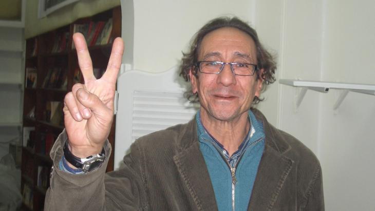 Verleger Mohammad Hashem; Foto: Samir Grees/DW