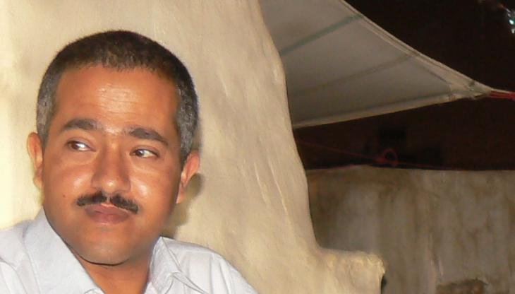 Der jemenitische Autor Wajdi al-Ahdal; Foto: Günther Orth