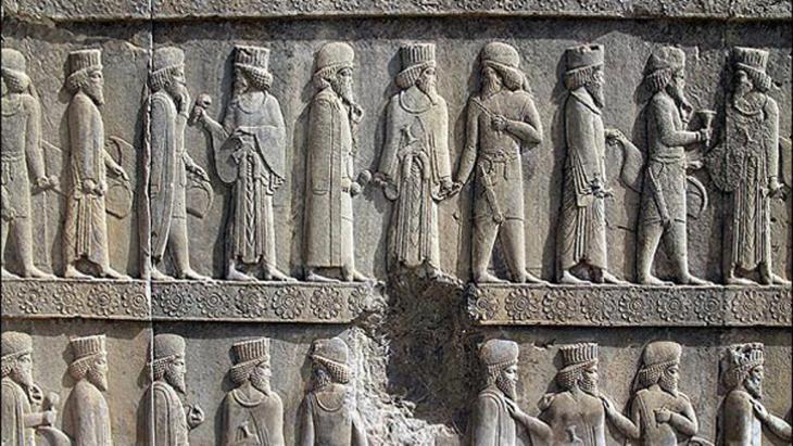 Apadana (Audienzhalle) von Persepolis, der Sommerresidenz der altpersischen Achämeniden (undatierte Aufnahme), Foto: MEHR