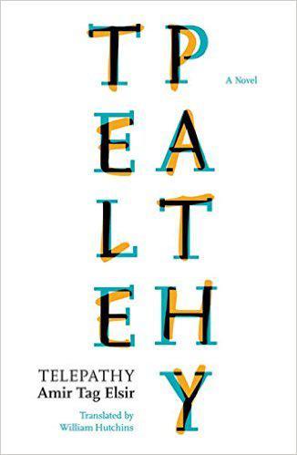 """Buchcover """"Telepathy"""" von Amir Tag Elsir, übersetzt von William Hutchins, Verlag Bloomsbury Qatar Foundation Publishing"""