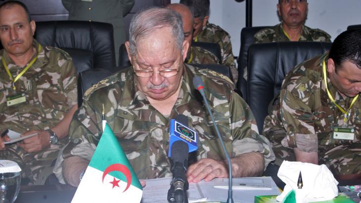 Algeriens Armeechef Ahmed Gaïd Salah, Foto: STR/AFP/GettyImages