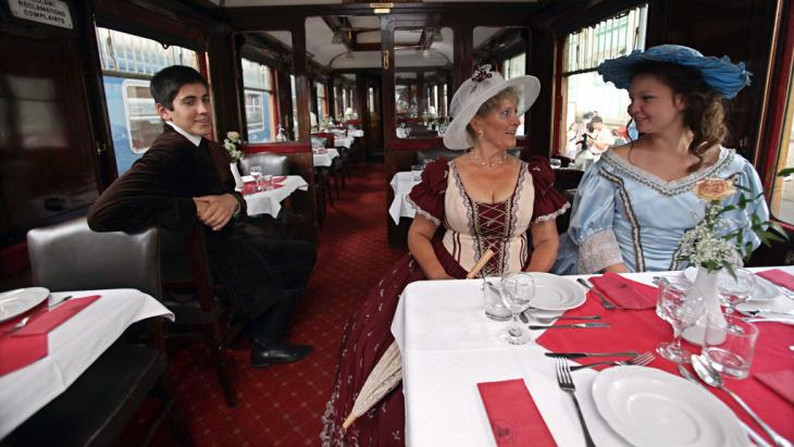 Der Orientexpress in Budapest 2010; Foto: Peter Kohalmi/AFP/Getty Images