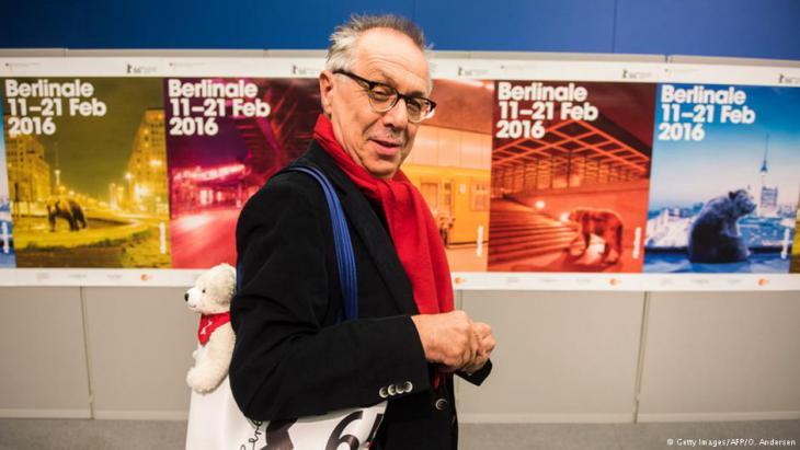 Berlinale-Chef Dieter Kosslick; Foto: Getty Images/AFP/O. Andersen