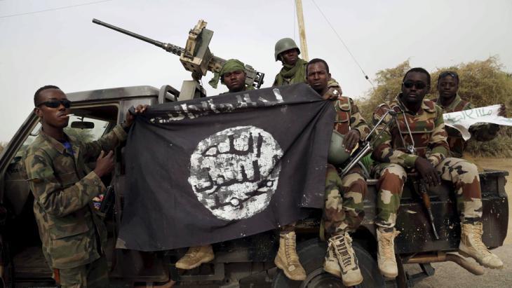 Nigeria: Regierungsoffensive im Kampf gegen Boko Haram in der Stadt Damasak; Foto: Reuters/Emmanuel Braun