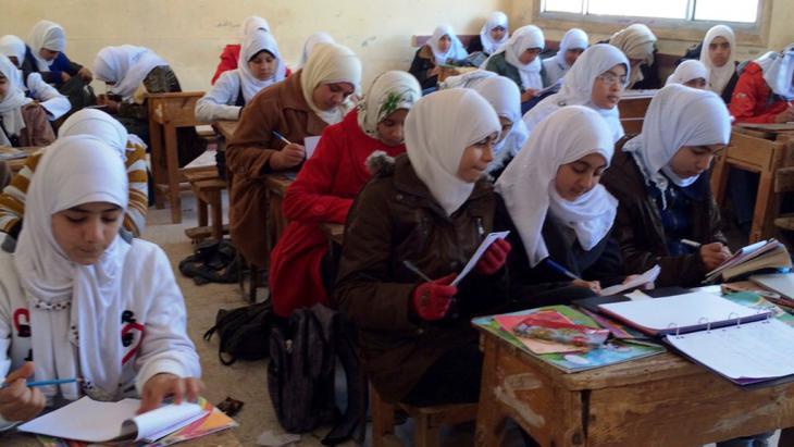 Religionsunterricht in Sharkya, Ägypten; Foto: DW/Reham Mokbel
