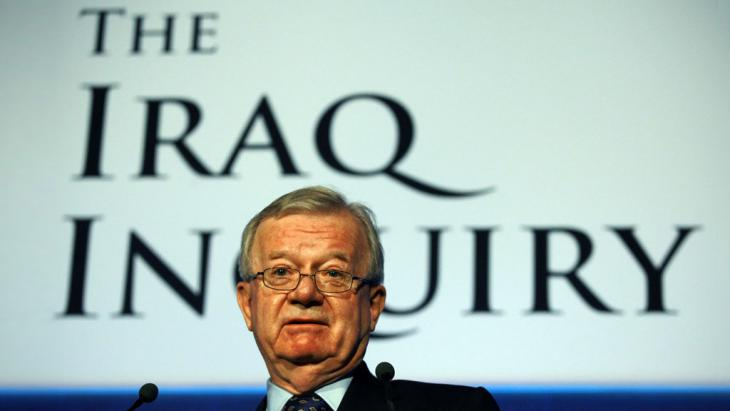 Sir John Chilcot, Vorsitzender des Irak-Untersuchungsausschusses; Foto: picture-alliance/Photoshot