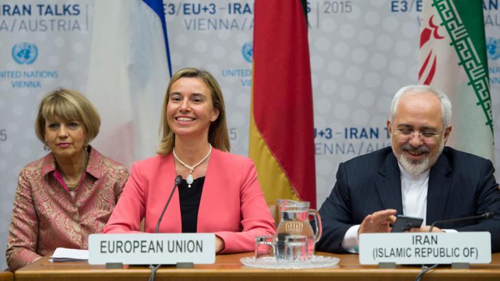 Abschluss der Atomverhandlungen mit dem Iran in Wien; Foto: Mehr