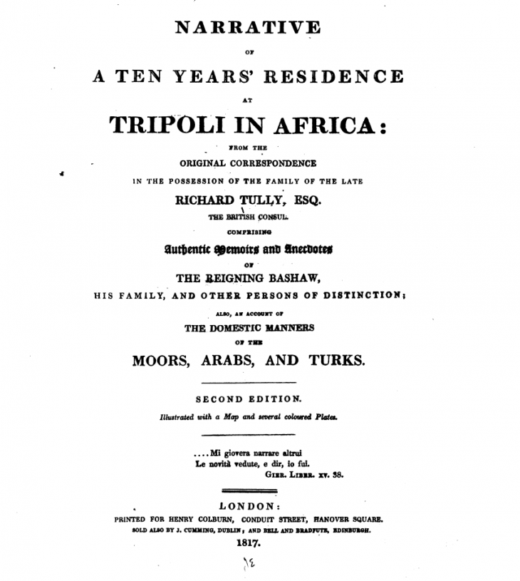 Second edition frontispiece (source: digitised by Google, original from the New York Public Library)