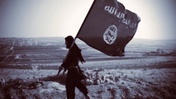 """Kämpfer des """"Islamischen Staates"""" (IS); Quelle: DW"""