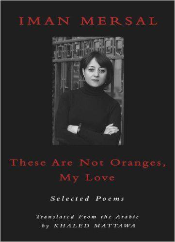 """Buchcover """"These are not oranges, my love"""" von Iman Mersal; Verlag: Sheep House)"""