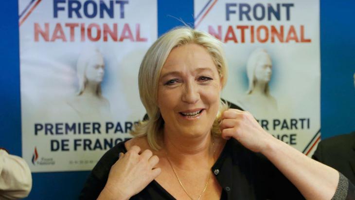 Marine Le Pen; Foto: Reuters
