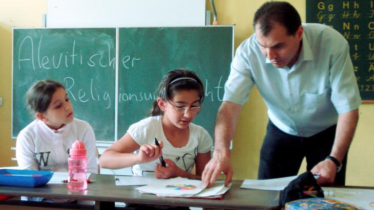 Religionsunterricht an einer Grundschule in Hessen; Foto: picture-alliance/dpa