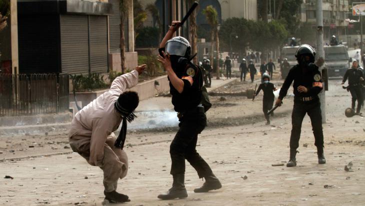 Polizeigewalt in Kairo, Foto: Getty Images