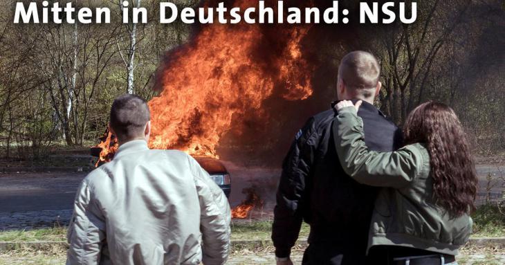 """Filmausschnitt ARD-Triologie """"Mitten in Deutschland: NSU"""""""