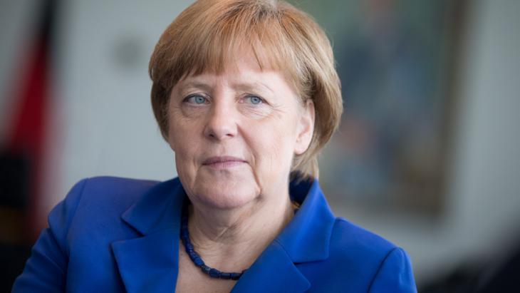 Bundeskanzlerin Angela Merkel; Foto: picture-alliance/dpa/K. Nietfeld