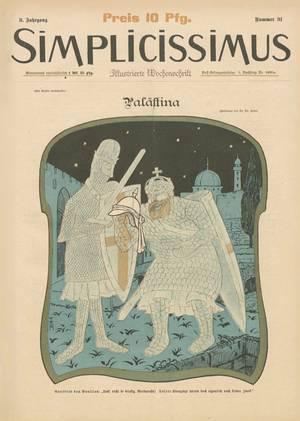 """""""Simplicissimus""""-Ausgabe vom 29.10.1898"""