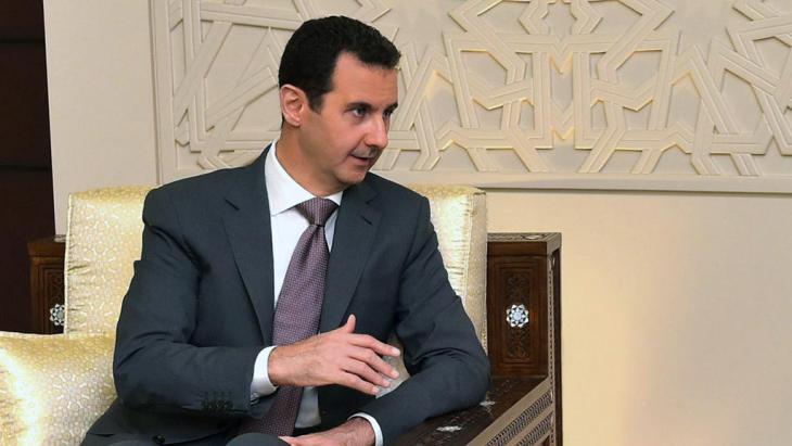 Syriens Präsident Baschar al-Assad; Foto: Syrian Arab News Agency