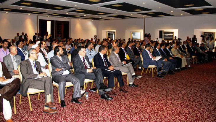 Libysche Parlamentarier in Tobruk; Foto: Reuters