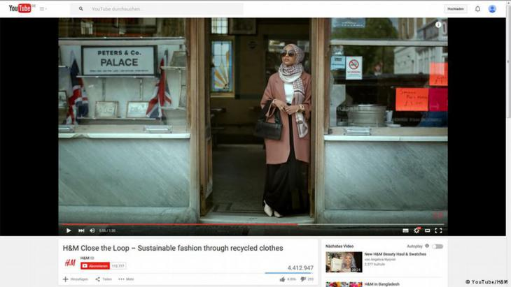 Screenshot H & M-Modevideo