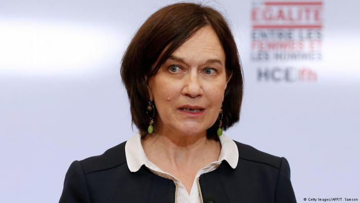 Frankreichs Frauenrechtsministerin Laurence Rossignol, Foto: Getty Images/AFP