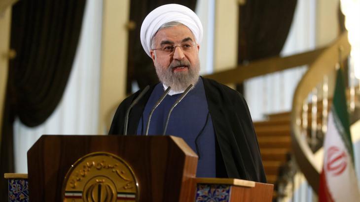 Irans Präsident Hassan Rohani; Foto: Mehr