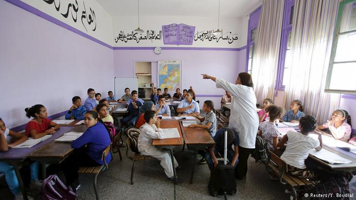 Schüler an der Oudaya-Grundschule im marokkanischen Rabat; Foto: Reuters