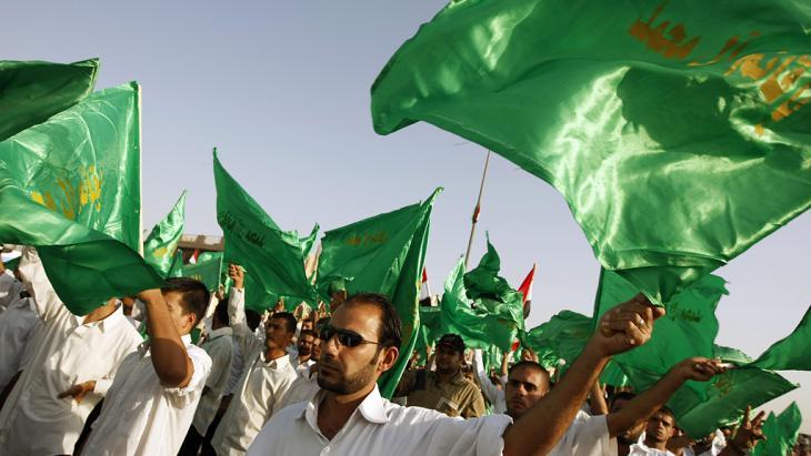 Anhänger des Schiitenführers Muktada al-Sadr in Bagdad; Foto: AHMAD AL-RUBAYE/AFP/Getty Images