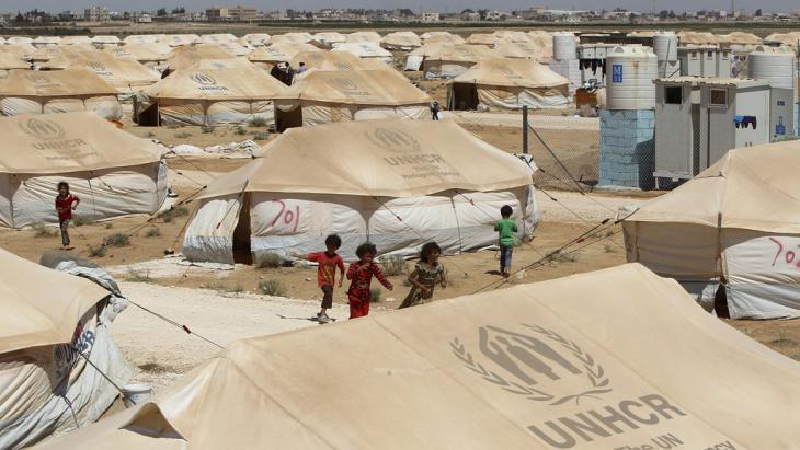 Zaatari-Flüchtlingscamp in Mafraq, Jordanien; Foto: Reuters