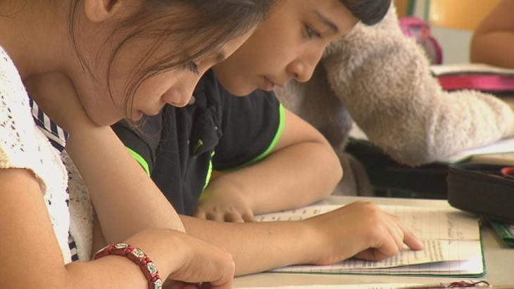 Islamischer Religionsunterricht an einer deutschen Schule; Foto:  DW