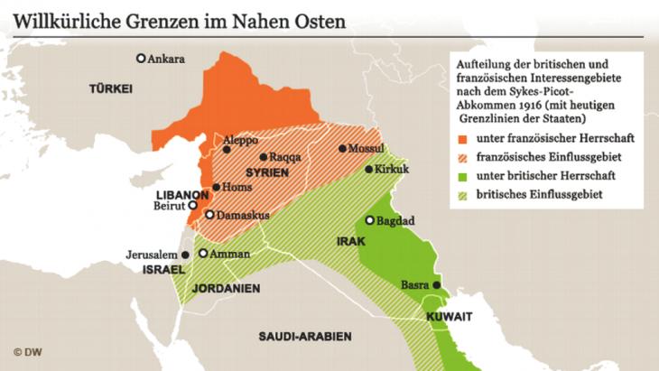 Sykes-Picot: Die Aufteilung des Nahen Ostens vor 100 Jahren