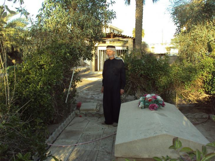 In diesem Grab liegt Getrude Bell. Foto Birgit Svensson