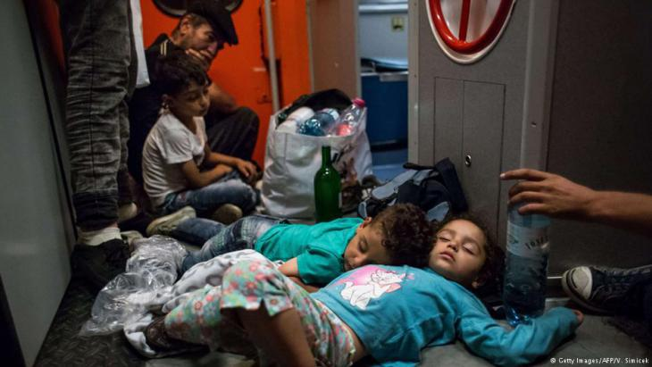 Syrische Flüchtlingskinder Foto Reuters