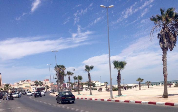 Die Stadt Dakhla in der Westsahara; Foto: Matthew Greene
